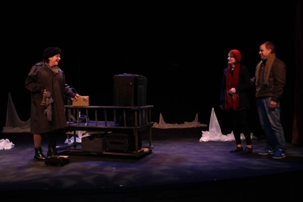 Photo Flash: First Look at THE SUN SHINES EAST; Previews Begin Tonight at Deane Little Theatre