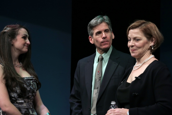 Allison McCall, Paul Haley and Laura Hauck
