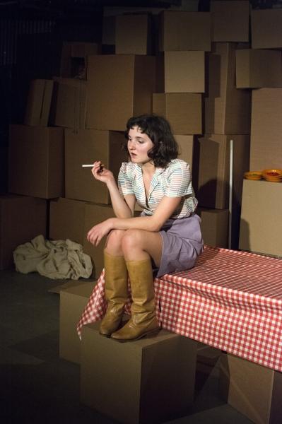 Ruby Bentall (Julie) in The Cement Garden. Photo by Rebecca Pitt.
