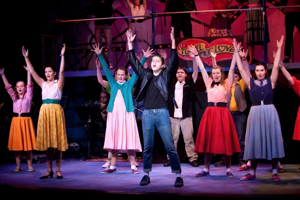 Photo Flash: First Look at Riverdale Rising Stars' ALL SHOOK UP