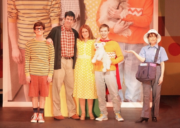Photo Flash: First Look at THE MUSICAL ADVENTURES OF FLAT STANLEY at Lewis Family Playhouse