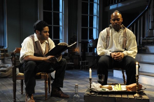 BWW Reviews: Curious Theatre Raises the Bar with Their Haunting Masterpiece, THE WHIPPING MAN