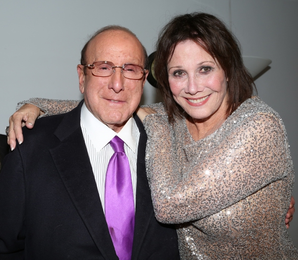 Clive Davis and Michele Lee