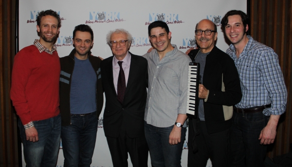 Danny Gardner, Alan Schmuckler, Sheldon Harnick, Marcus Stevens, David Buskin and Bra Photo