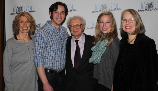 Beth Ertz, Bray Wilkins, Sheldon Harnick, Katherine Henly and Maggie Harrer