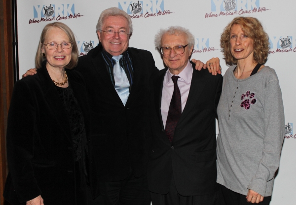 Maggie Harrer, Michael Ballam, Sheldon Harnick and Beth Ertz Photo