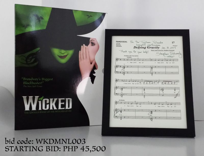 Photo Coverage: WICKED-Manila Holds Live Auction for Typhoon Victims