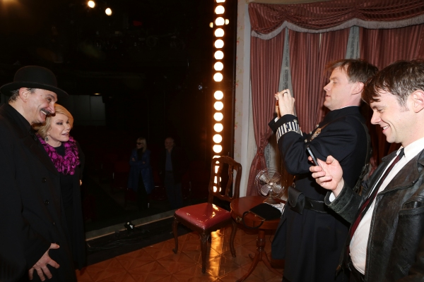Joan Rivers visits Rocco Sisto, Eric Martin Brown and Nick Westrate