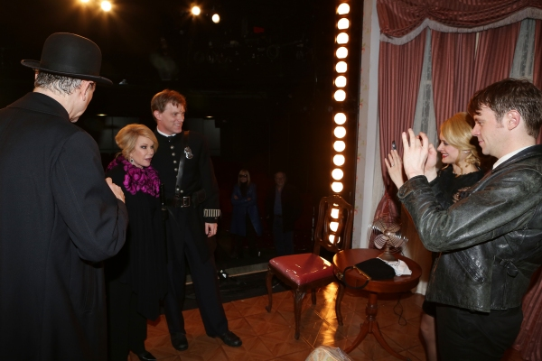 Joan Rivers visits Rocco Sisto, Eric Martin Brown, Rebecca Brooksher and Nick Westrate