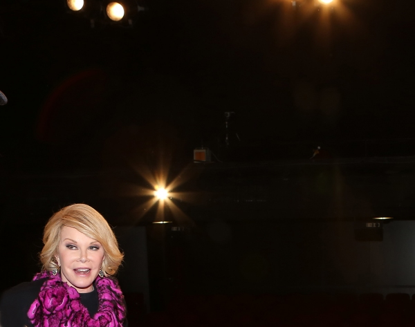 Exclusive Photo Coverage: Joan Rivers Visits  Cast of Red Bull Theater's LOOT