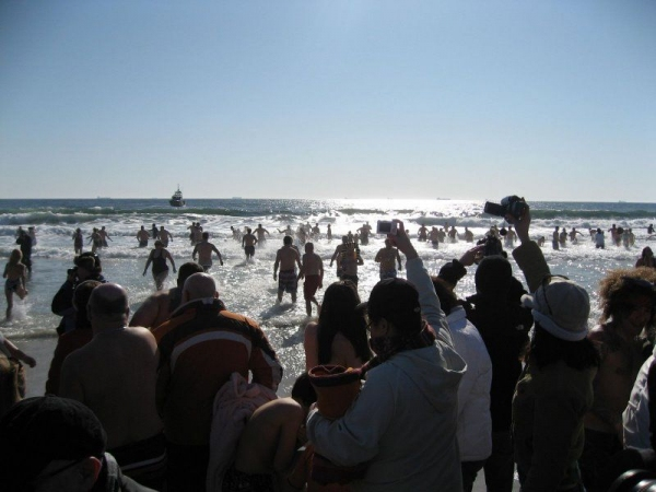 Photo Flash: Thousands Participate in NY's POLAR BEAR PLUNGE