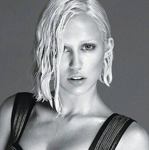 Photo Flash: First Look - Miley Cyrus Is Unrecognizable in W Magazine Cover Shoot