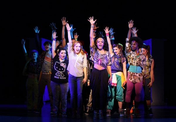 Photo Flash: First Look at Nadia Vynnytsky, Bailey Purvis & Zuri Washington in BRING IT ON National Tour