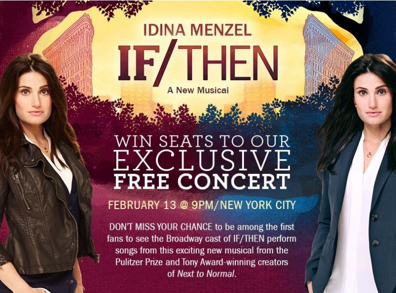 IF/THEN Special Concert With Idina Menzel & More Set For 2/13
