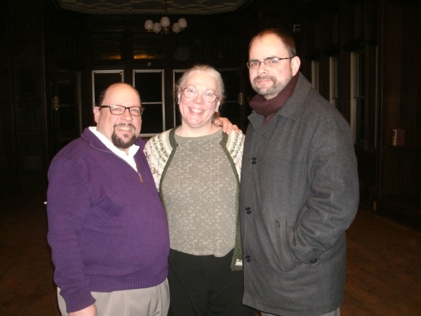 David Rice, Alison C. Vesely, and Christopher Kriz Photo