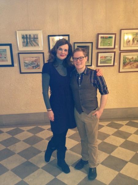 Gail Rastorfer and Alex Weisman