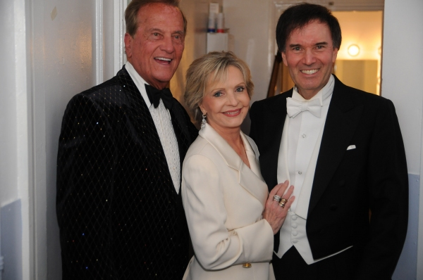 Pat Boone, Florence Henderson and Maestro Gary S. Greene