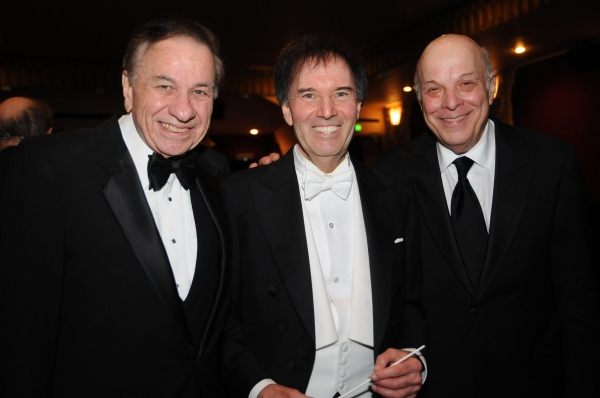 Academy Award winning Composer Richard M. Sherman (Mary Poppins), LA Lawyers Philharmonic founder-conductor Gary S. Greene, Emmy and Grammy Award winning composer Charles Fox.
