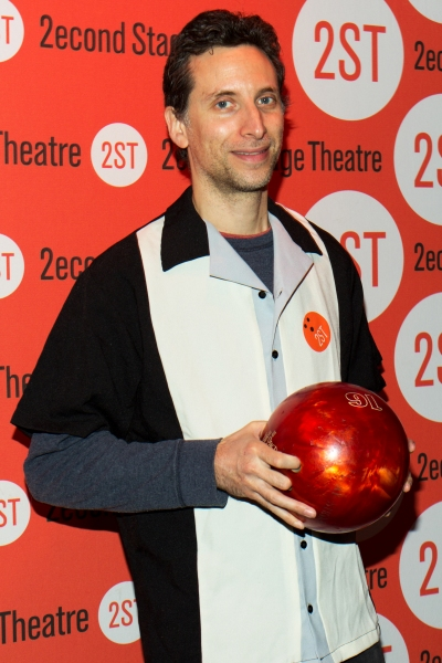 Photo Coverage: Let's Bowl! Zach Braff, Constantine Maroulis & More at Second Stage's Bowling Classic