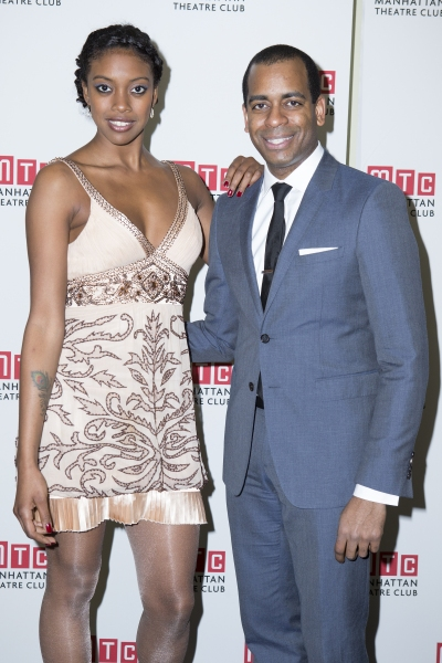 Condola Rashad and Daniel Breaker