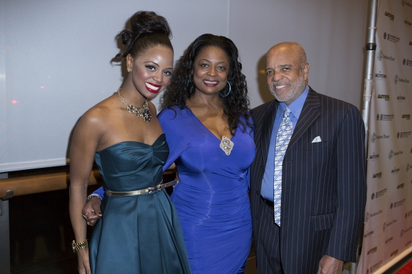 Krystal Joy Brown, her mother and Berry Gordy