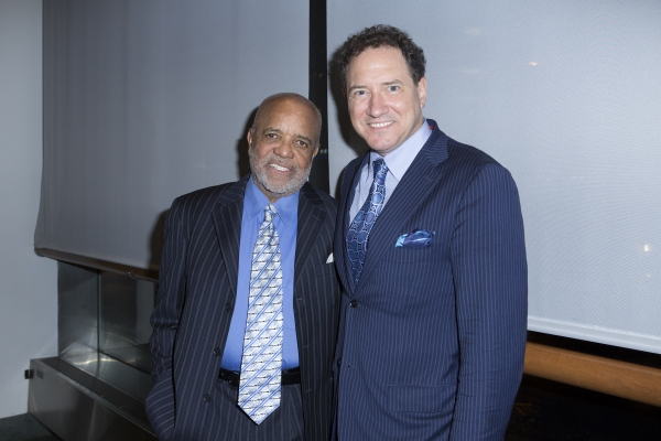 Berry Gordy and Kevin McCollum