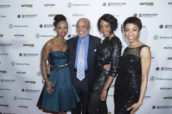 Krystal Joy Brown, Berry Gordy, Tiffany Janene Howard and Allison Semmes