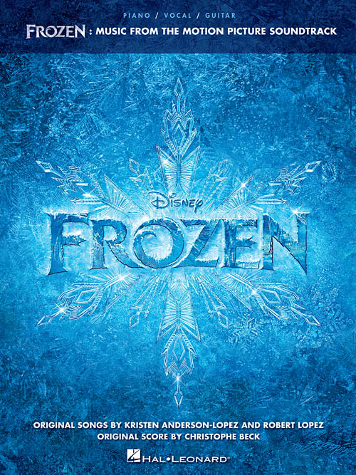FROZEN: MUSIC FROM THE MOTION PICTURE Sheet Music Available For Pre-Order, Out 1/29