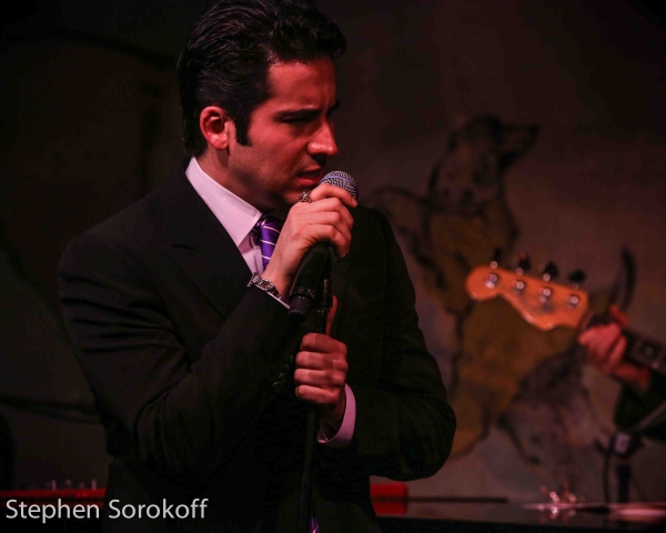 Photo Coverage: John Lloyd Young Returns To Cafe Carlyle!