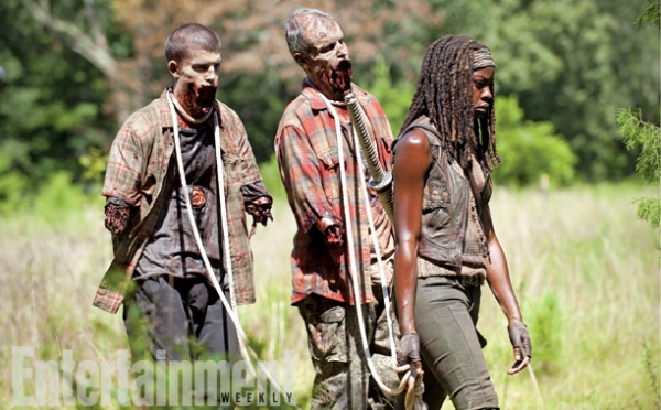 Photo Flash: First Look - All-New Images from Mid-Season Return of AMC's THE WALKING DEAD