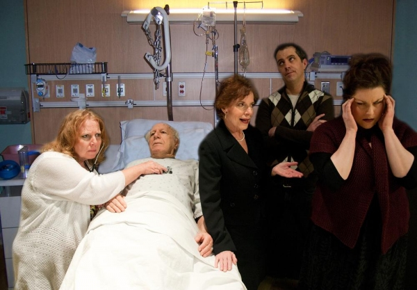 Darcy Kennedy (nurse), Joey Wishnia (Ben), Deb Persoff (Rita), Preston Lee Britton (Curtis), Haley Johnson (Lisa)