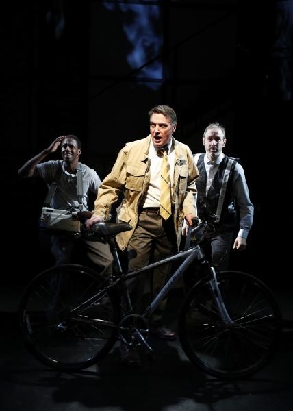 Photo Flash: First Look at Robert Cuccioli & More in BIKEMAN, Now Playing at BMCC Tribeca Performing Arts Center