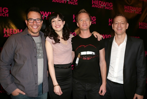 Director Michael Mayer, Lena Hall,Neil Patrick Harris and producer David Binder