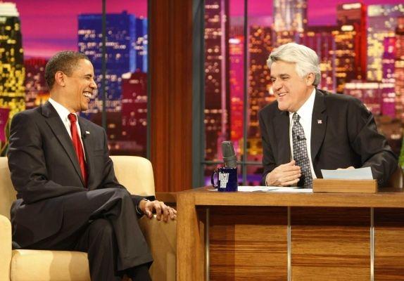 President Obama, Jay Leno