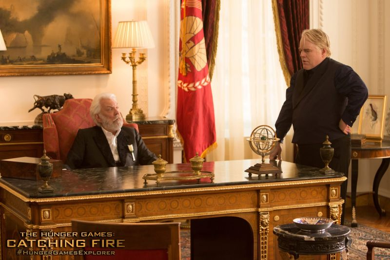 Filmmakers to Digitally Recreate Philip Seymour Hoffman for HUNGER GAMES Final Scene