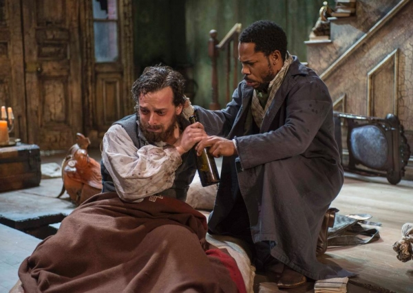 Photo Flash: First Look at The Rep's 'WHIPPING MAN'