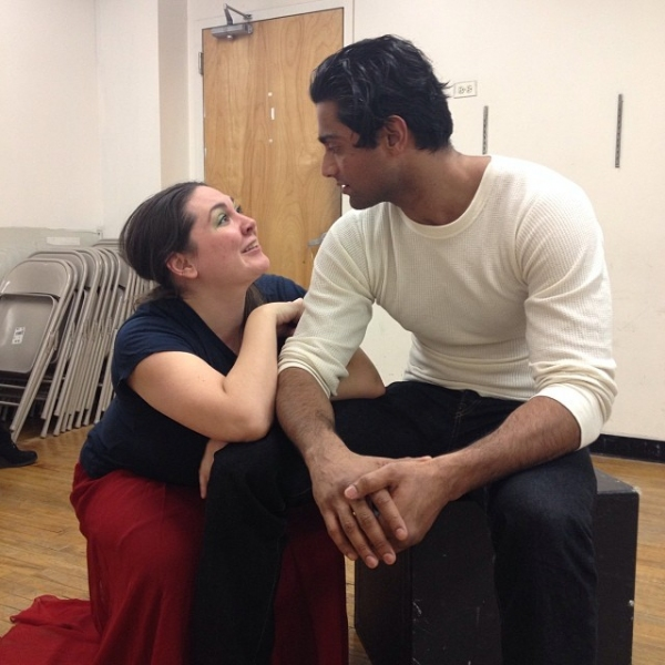 Photo Flash: In Rehearsal with the Cast of Beautiful Soup's LILIOM