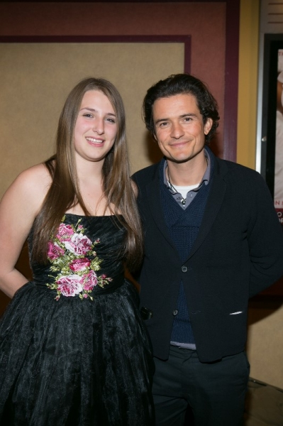Leah Lane, Orlando Bloom