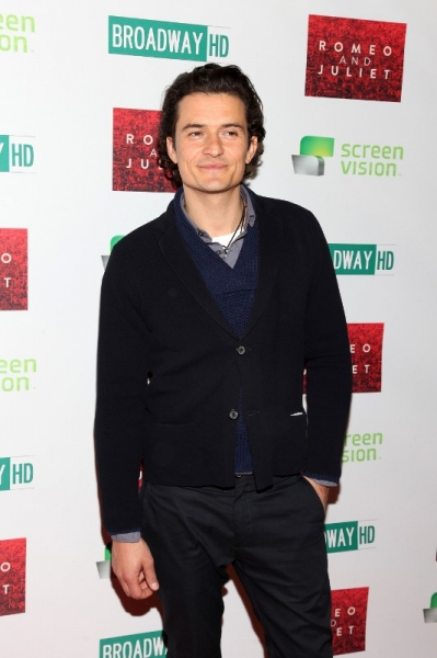 Photo Flash: On the Red Carpet of ROMEO AND JULIET's Big Screen Premiere with Orlando Bloom & Condola Rashad
