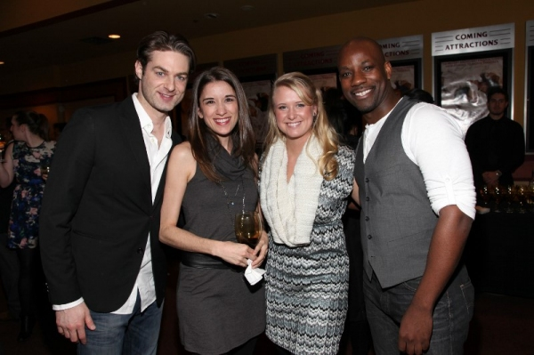 Spencer Plachy, Laura Kaldis, Danielle Lumpower, Maurice Jones Photo