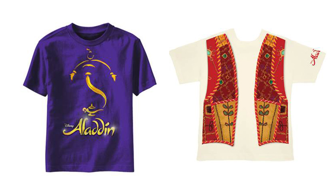 ALADDIN On Broadway Merchandise Now Available