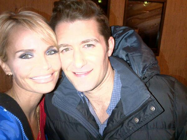 Matthew Morrison & Kristin Chenoweth Share Photos From GLEE Set