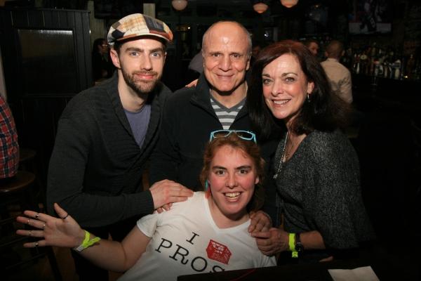 Tom White, Bruno Iannone, Deborah Tranelli, Liz Peak (front)