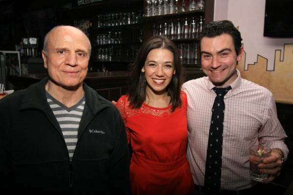 Bruno Iannone, Courtney Romano, David Demato Photo