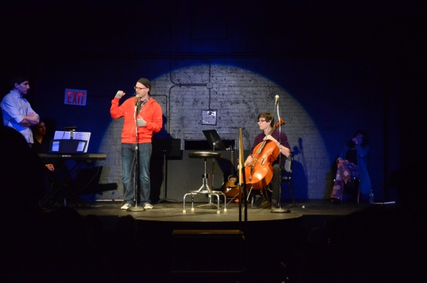 Ben Fankhauser, Ansel Cohen and Ryan Scott Oliver Photo
