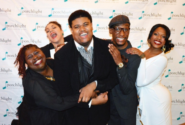 Robin DaSilva, Lina Wass, Lorenzo Rush Jr., Donterrio Johnson and Sharriese Hamilton Photo