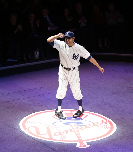 Photo Coverage: Yankees Arrive on Broadway- BRONX BOMBERS Takes Opening Night Bows!