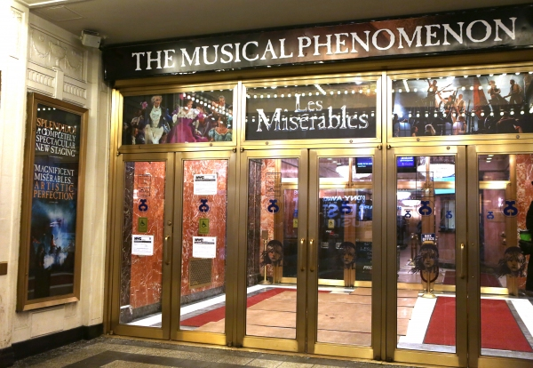 Up on the Marquee: LES MISERABLES's Back on Broadway!
