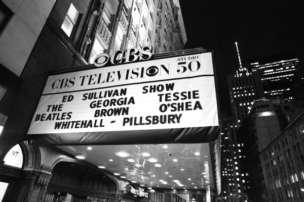 Up on the Marquee: Beatles 50th Anniversary Unveiling