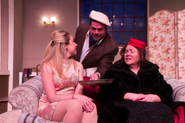 Jessica Alex, Kevin Sosbe as Victor Velasco, and M.J. Hartell as Corie''s Mother, Ethel